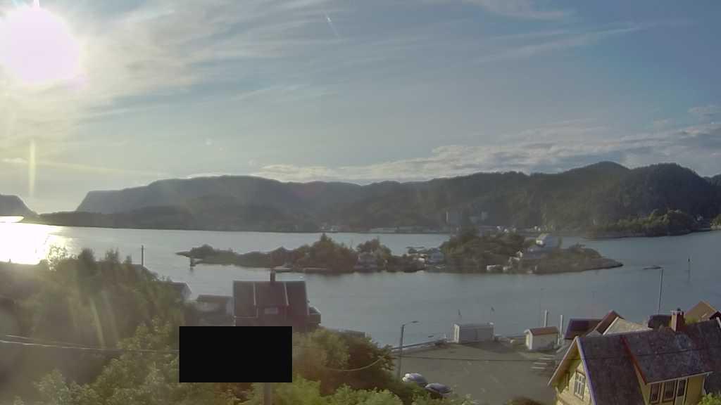 Webcam Andabeløy, Flekkefjord, Vest-Agder, Norwegen